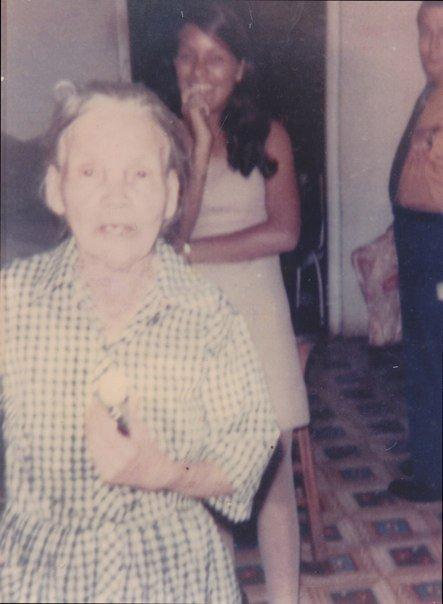"""Great grandmother,Concepción """"Concha"""" Rodriguez"""
