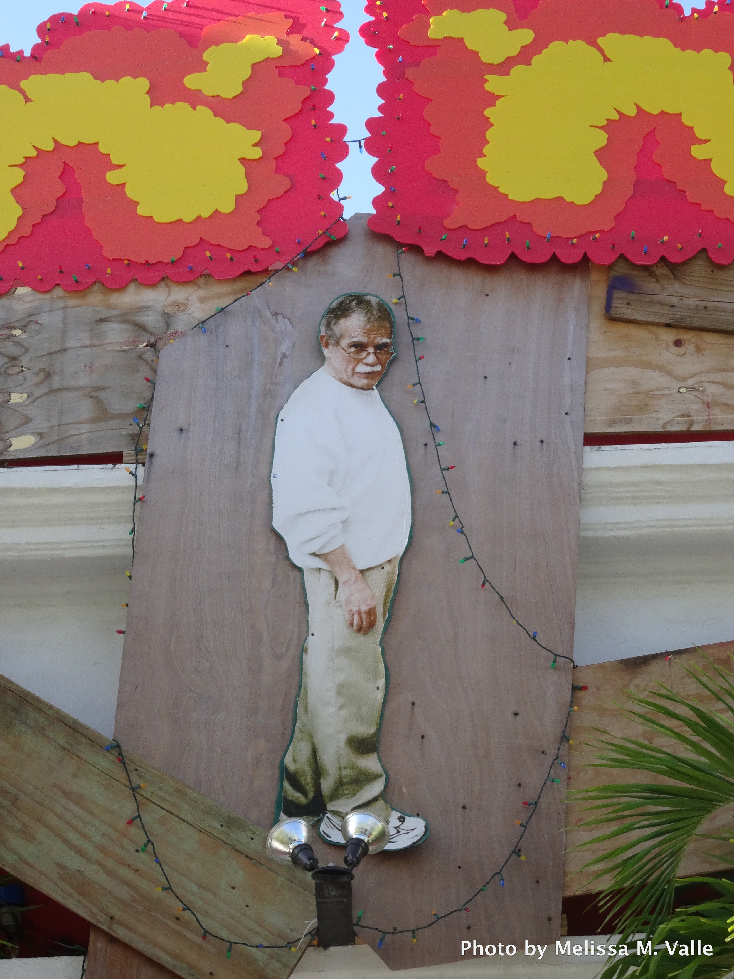 Image of political prisoner,  Oscar López Rivera