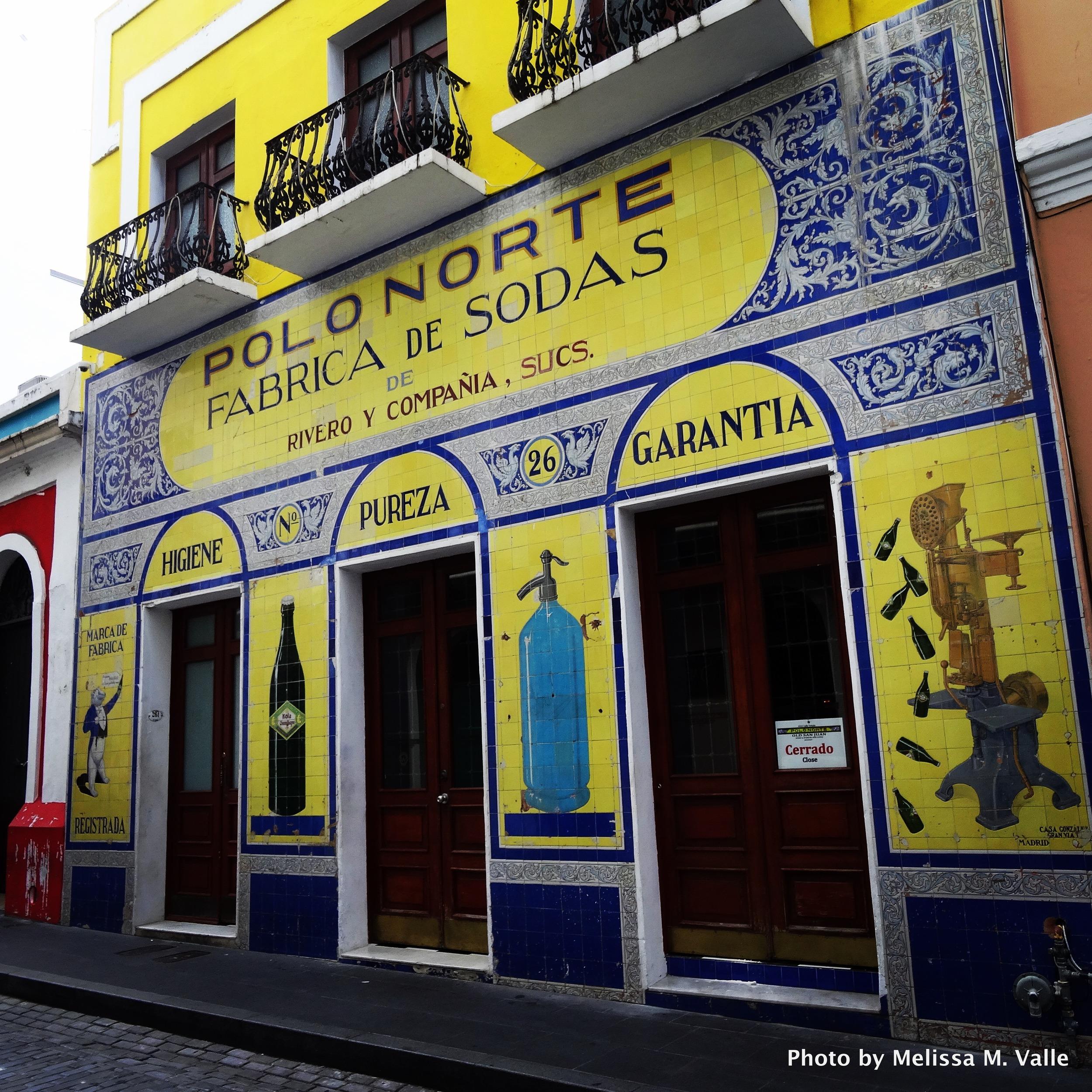 Where Kola Champagne was created. San Juan, PR