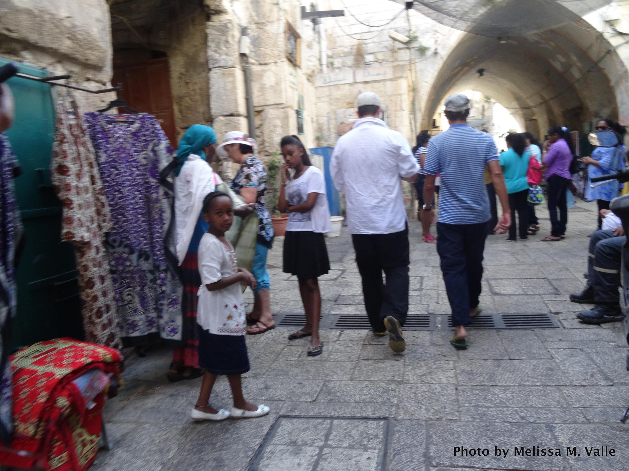 Afro-descendants in the Old City of East Jerusalem