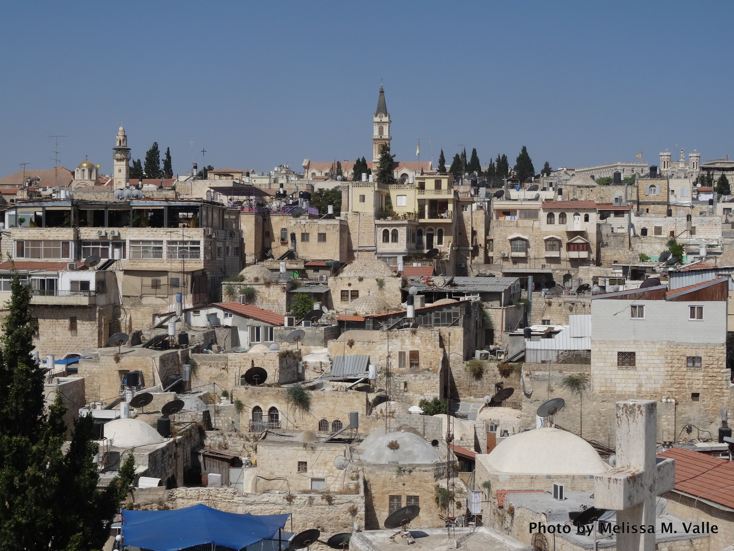 View of Jerusalem from Austrian Hospice