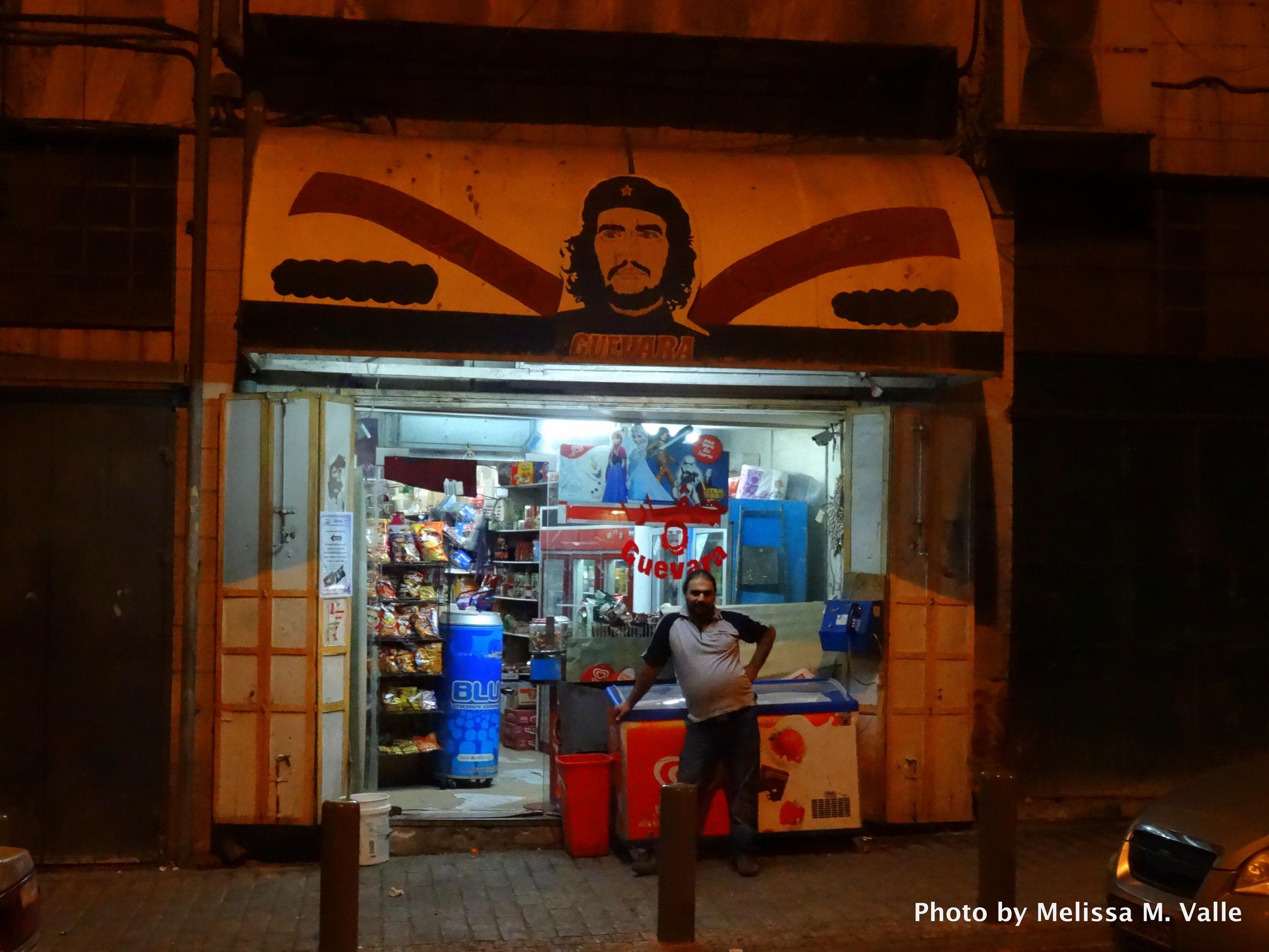 Che Guevara convenience store, East Jerusalem #VivaLaRevolución