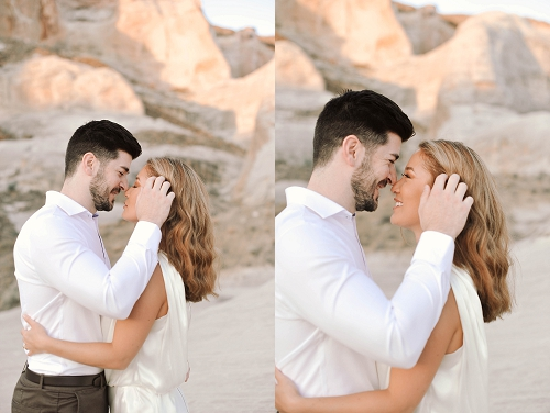 Couple visits Amangiri resort for engagement