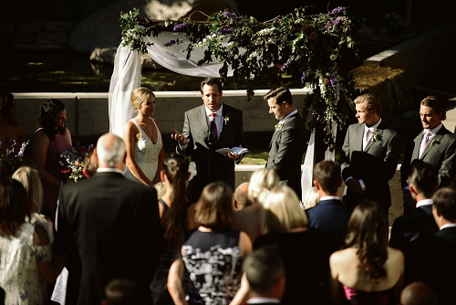 Wedding at High West Distillery in Kamas Utah