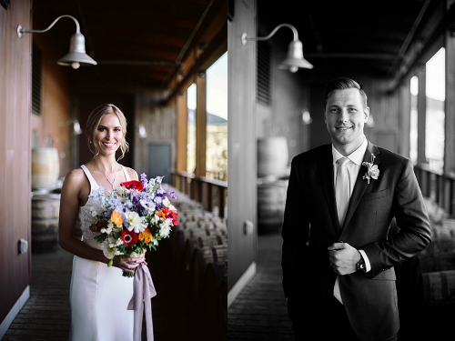 bride and groom in park city utah