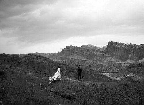 Utah elopement in Capitol Reef