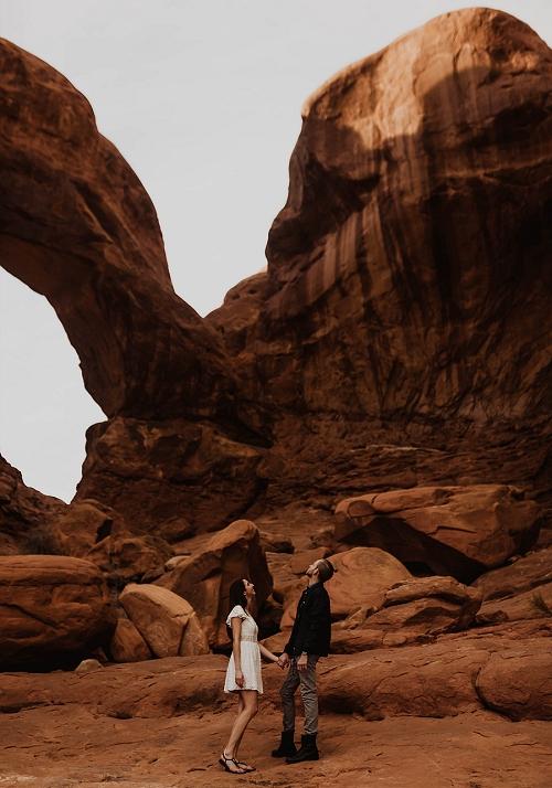 Moab Utah red rock
