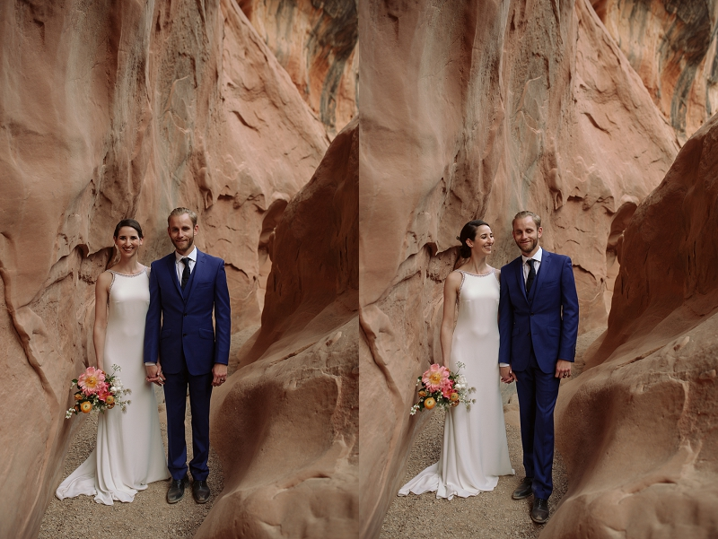 Couple elopes in Utah desert