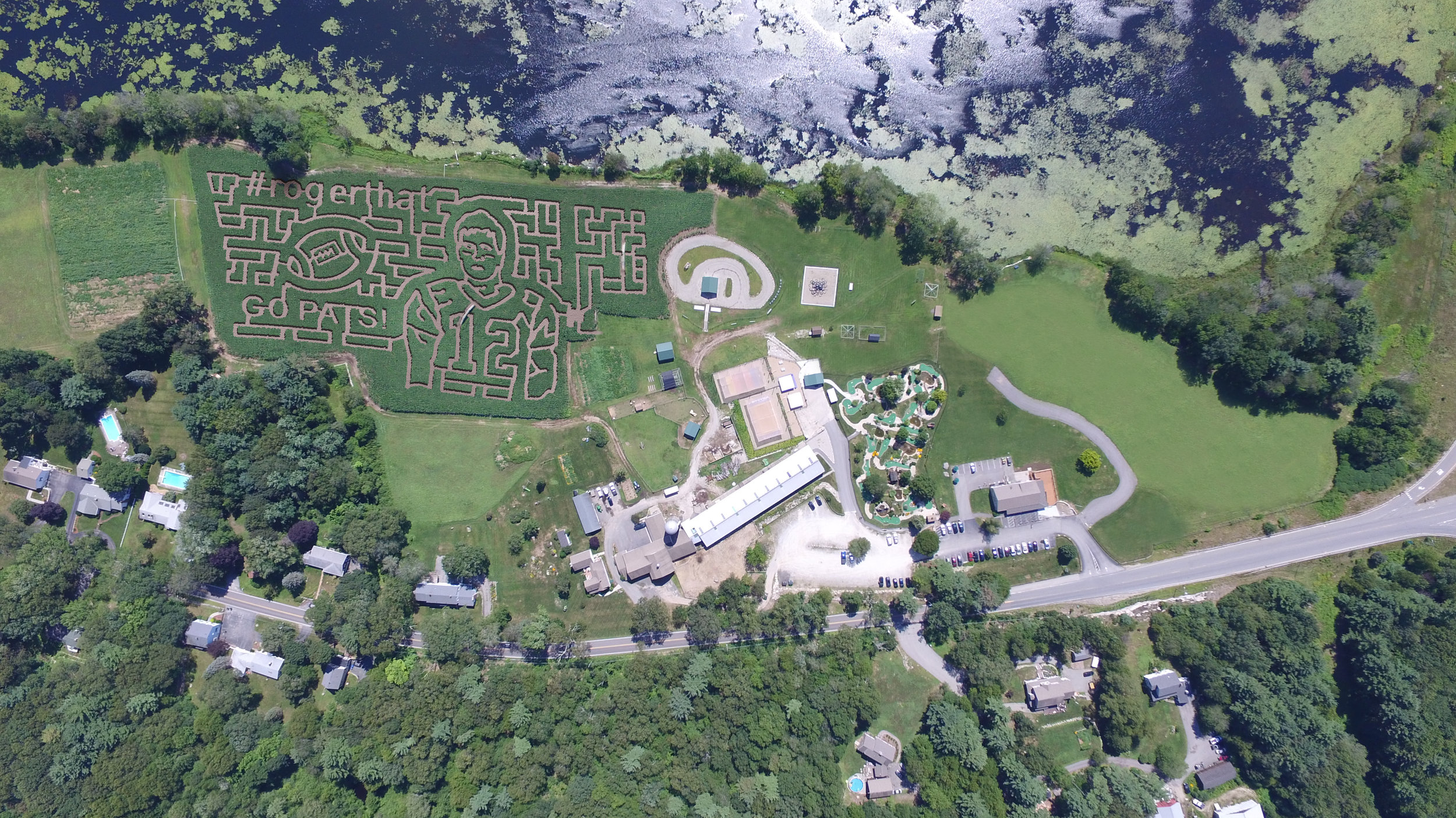 2017 #rogerthat Corn Maze at West End Creamery