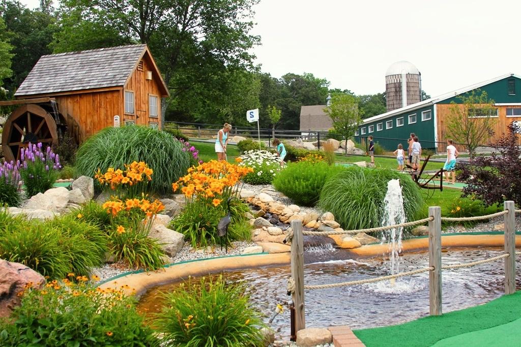 Our 18 hole minature golf course.