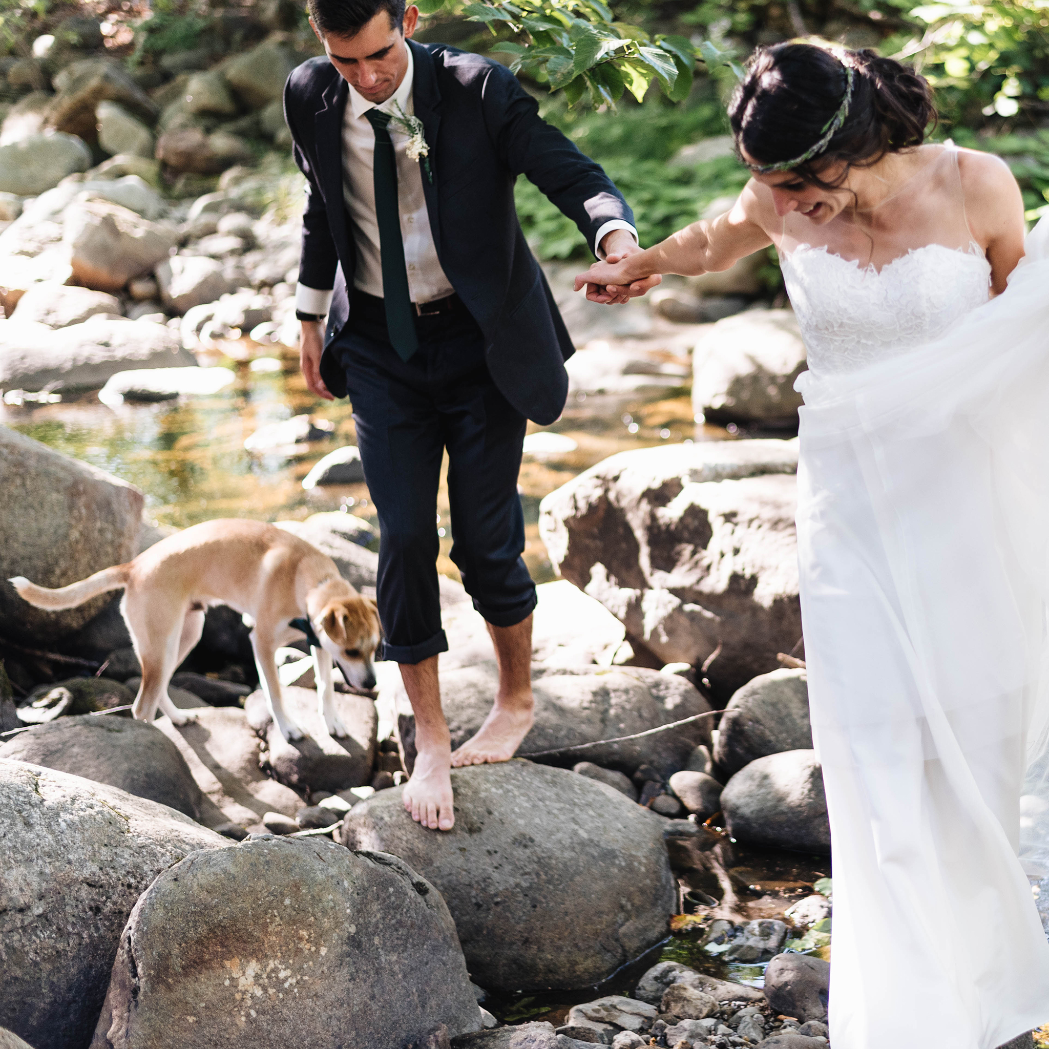 An Adventurous and Intimate Camp Wedding -
