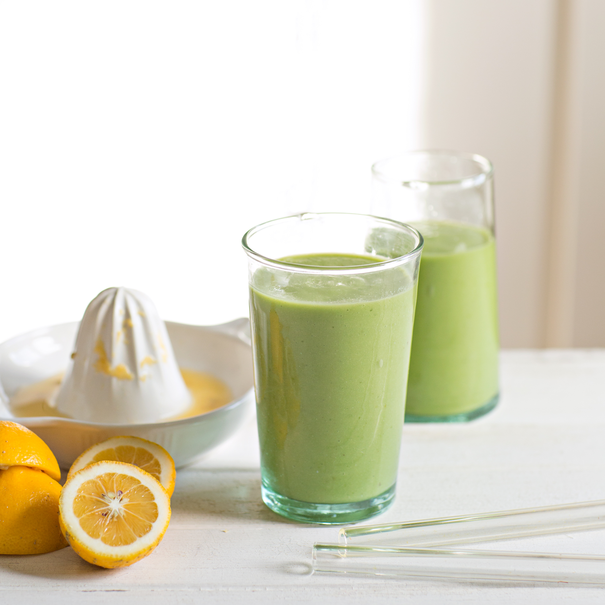 green apple & avo smoothie: the unbakery app