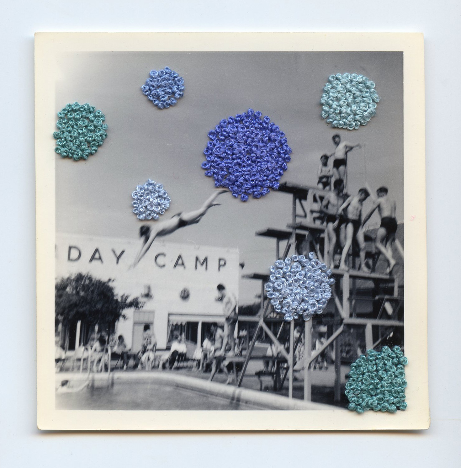 Day Camp   Vintage Photo Embroidery Thread