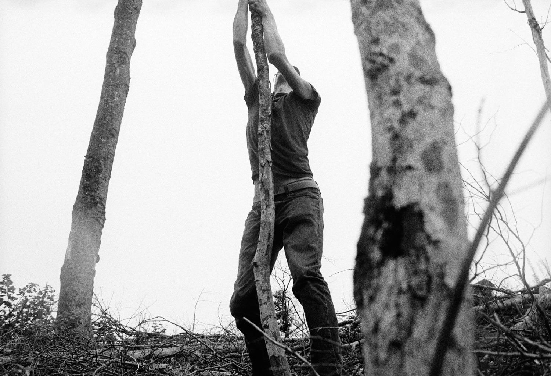 aug 13th,tree slaps and a tumble down a mountain