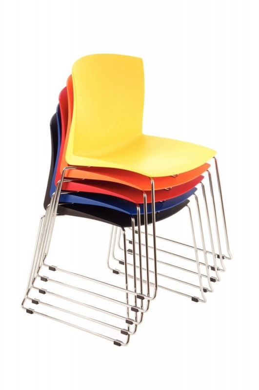 How do you fit 500 people in a conference room that has 15-square feet of storage? Solution: stacking chairs. No doubt, the lone non-stackable chair has an inherent function. But when stacked, they gain an additional function: convenience, without sacrificing real estate.