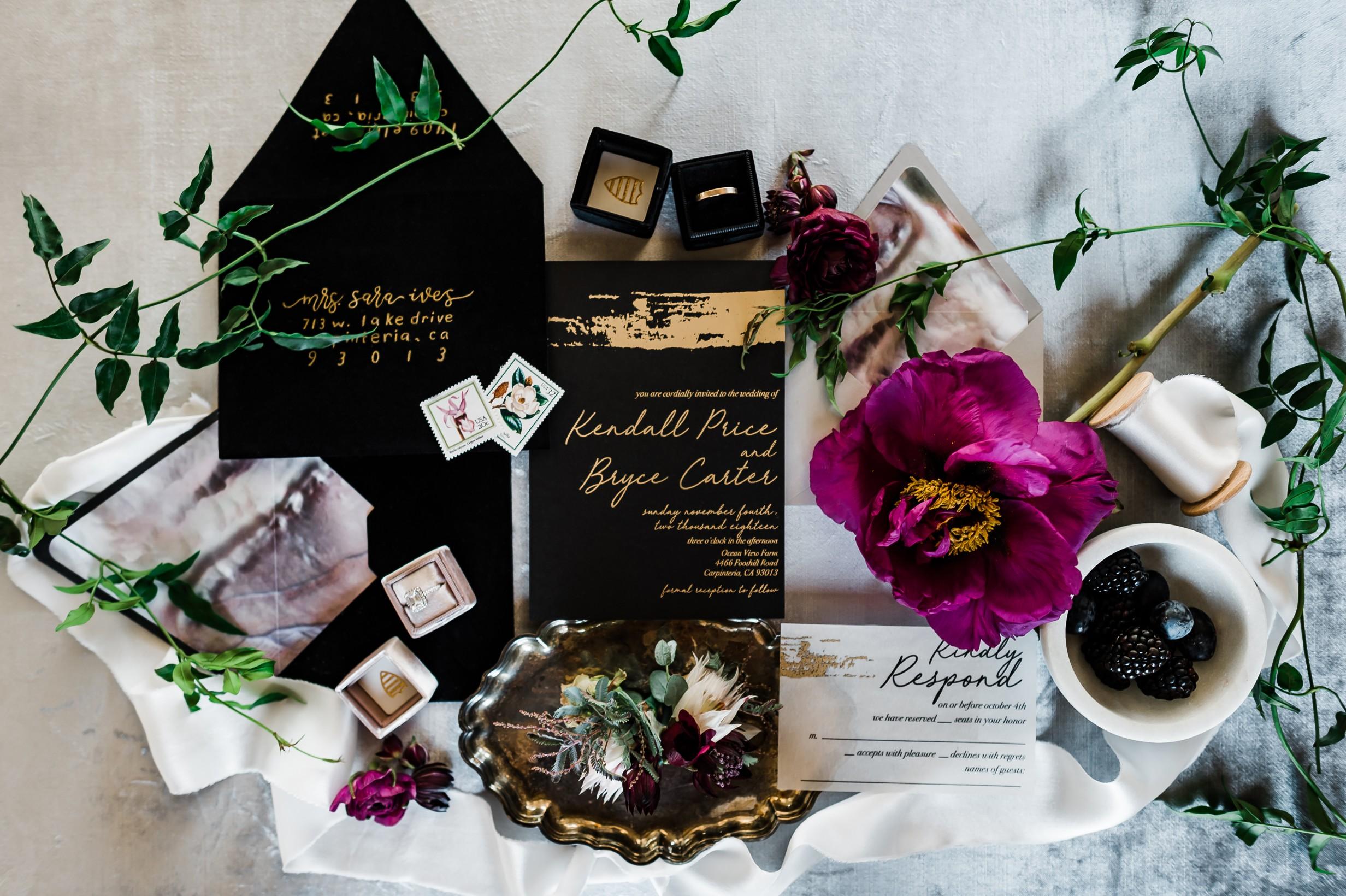Moody Berry Toned Oceanview Farm Wedding 1.jpg