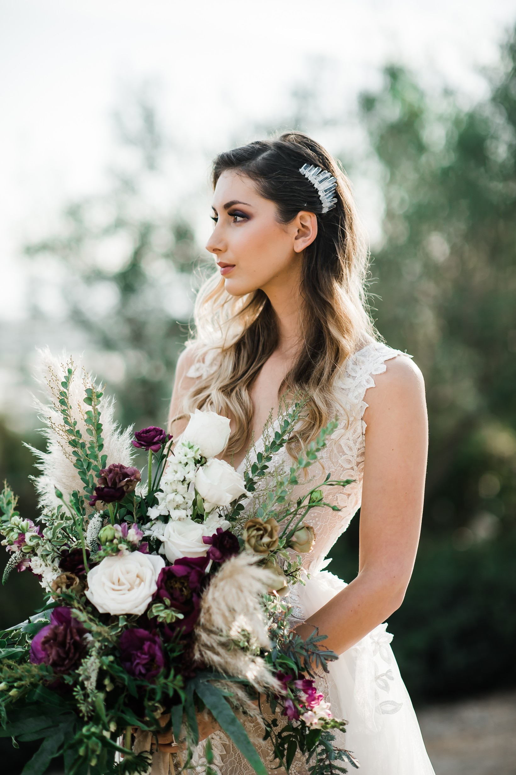 Moody Berry Toned Oceanview Farm Wedding 5.jpg