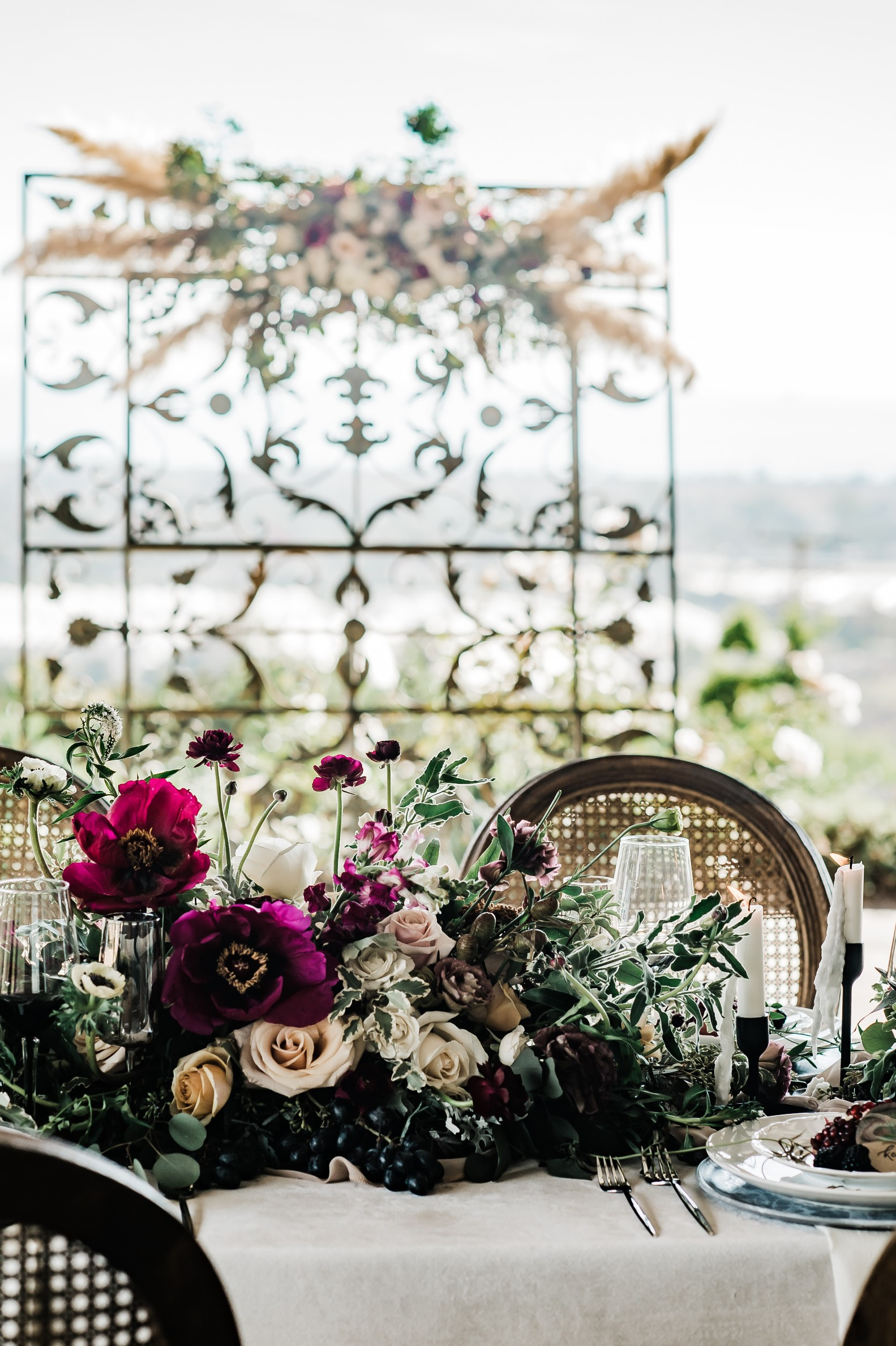 Moody Berry Toned Oceanview Farm Wedding 10.jpg