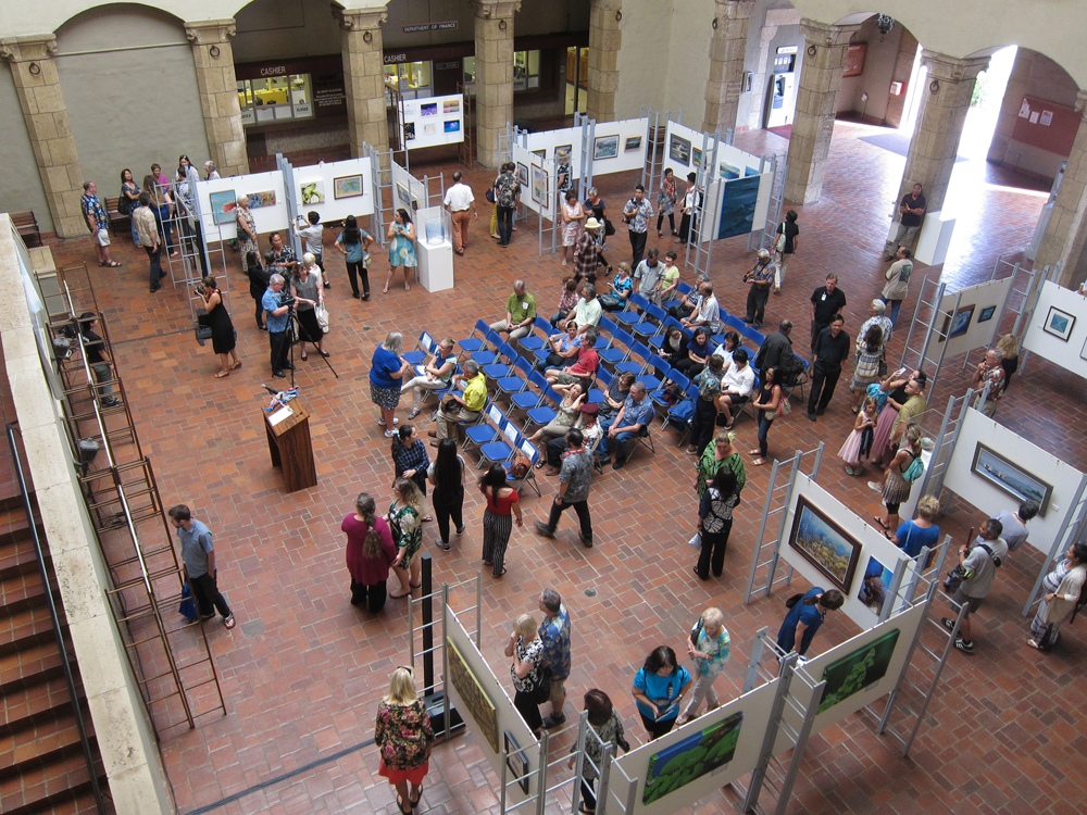 The opening reception was held on Thursday, May 31, 2018.