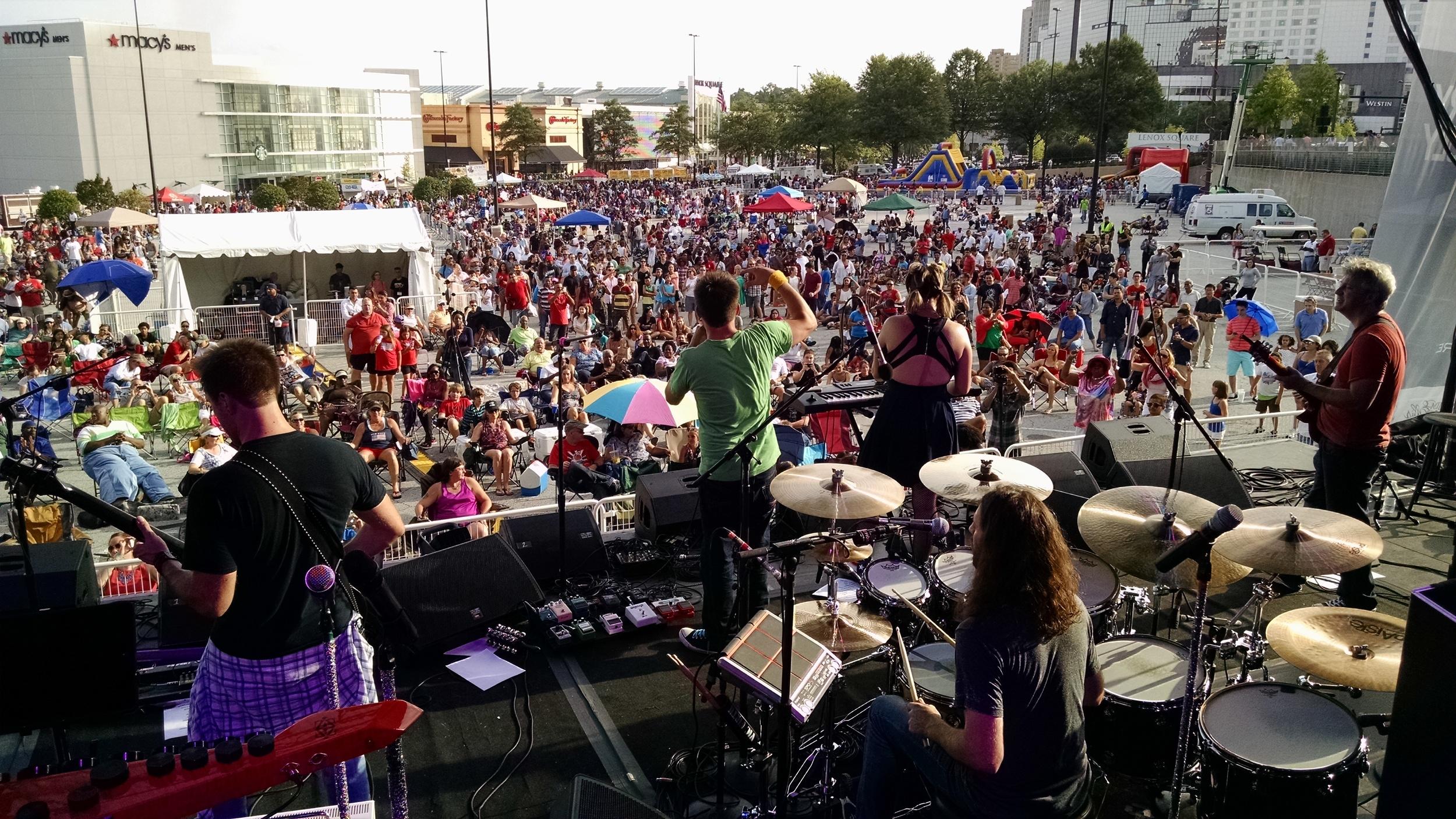 Gump Fiction - Legendary 4th of July at Lenox Square / Atlanta, Ga.