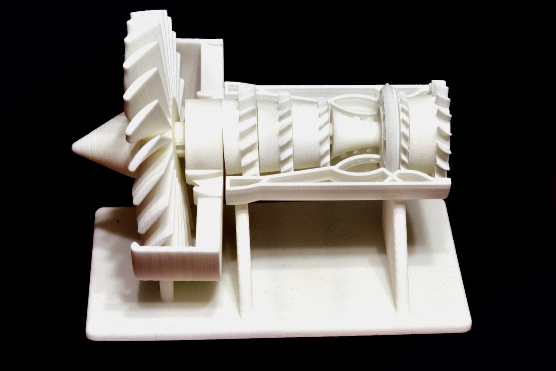 3D Printed Nylon Propeller