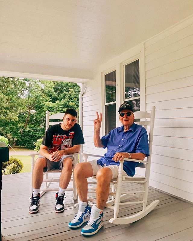 Posted up with my OG today 👴🏻✌🏻