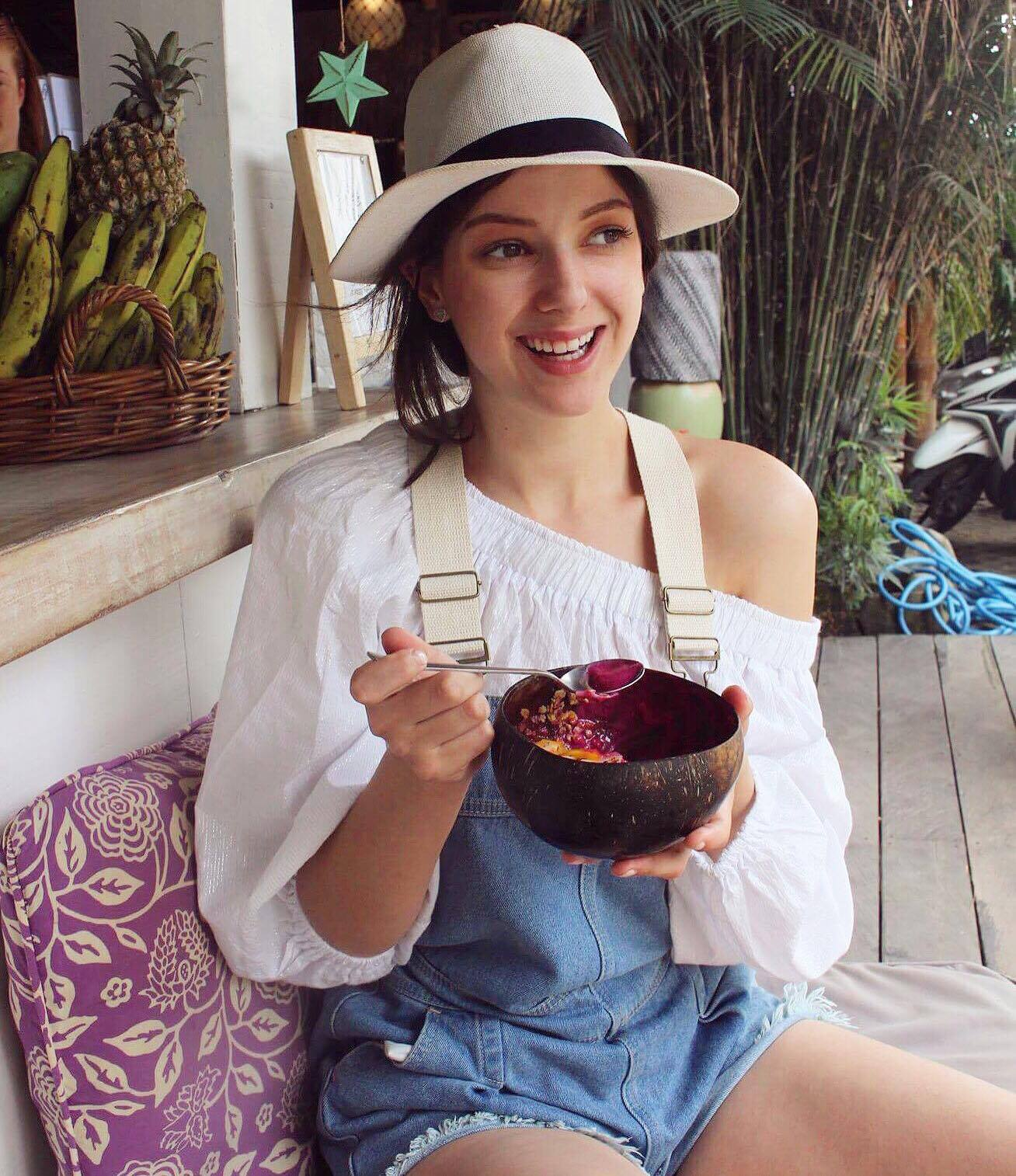 Smoothie bowls at Nalu Bowls in Canggu - one of the best tasting smoothie bowls I've ever had. Definitely worth a visit.