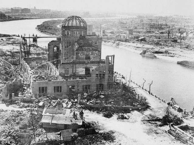 Hiroshima after the bomb