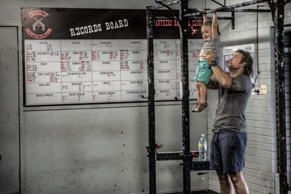 Phil - teaching the future of Crossfit