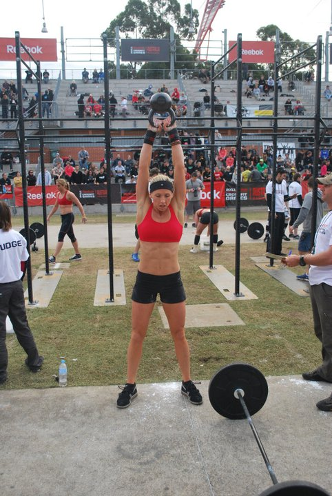 Flashback to Lily at the 2011 CrossFit Regionals