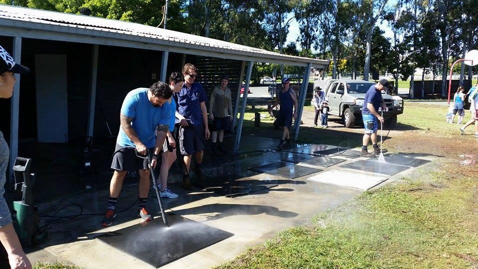 2015 flood clean up