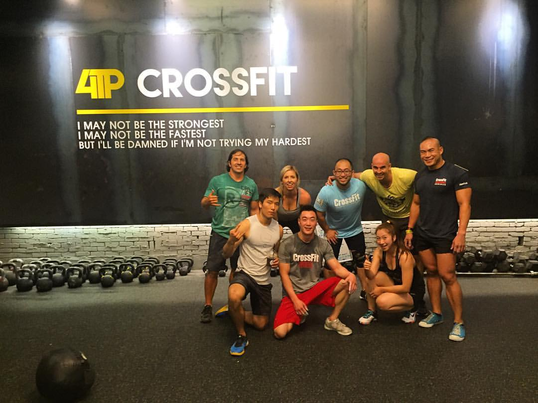 Lily at 4TP CrossFit in South Korea over the weekend