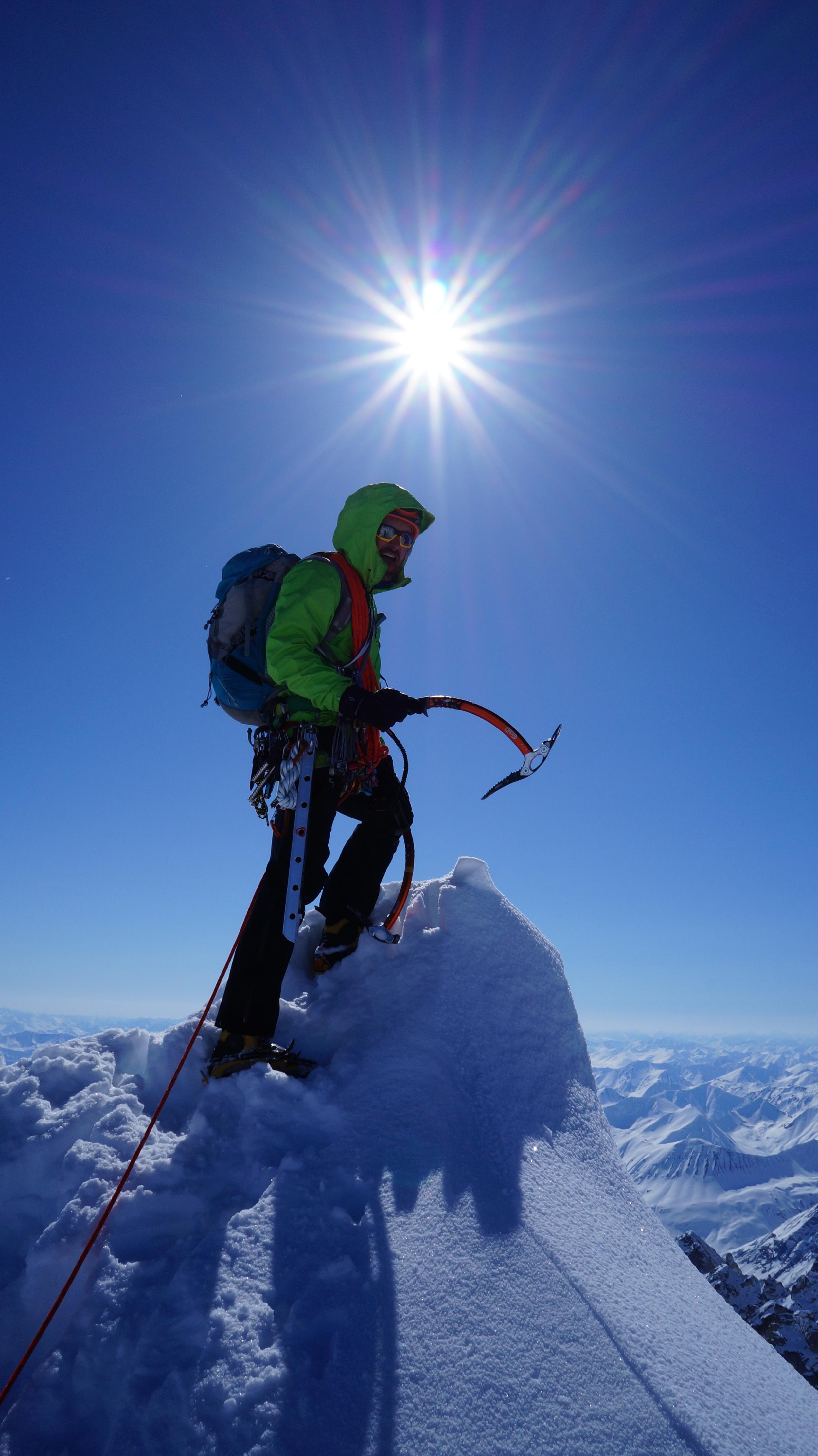 Summit of Mt. Augustin