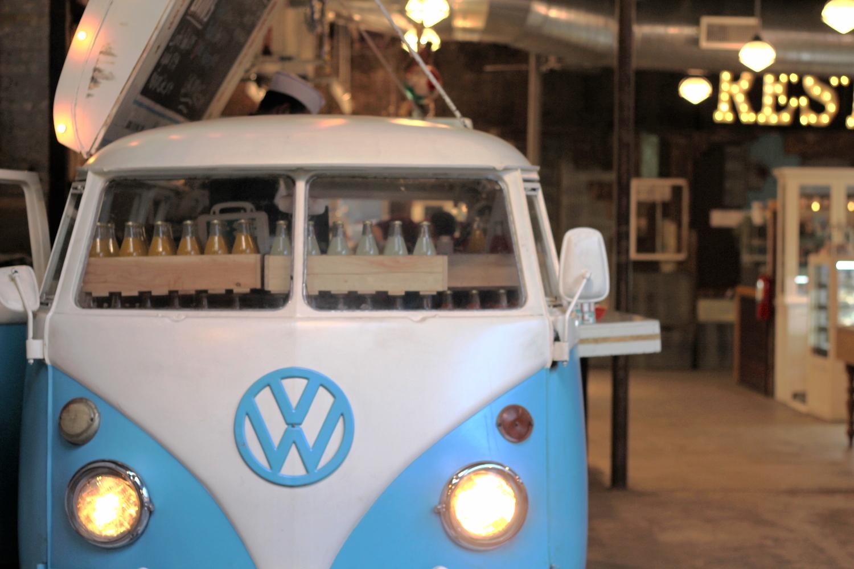 The Tacombi VW bus