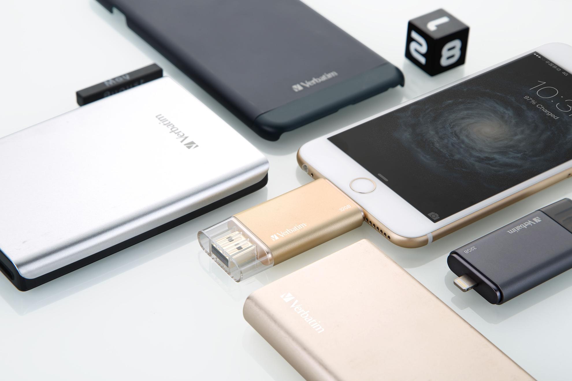 GISH INTERNATIONAL presents   Verbatim Media & Mobile Accessories    Learn More