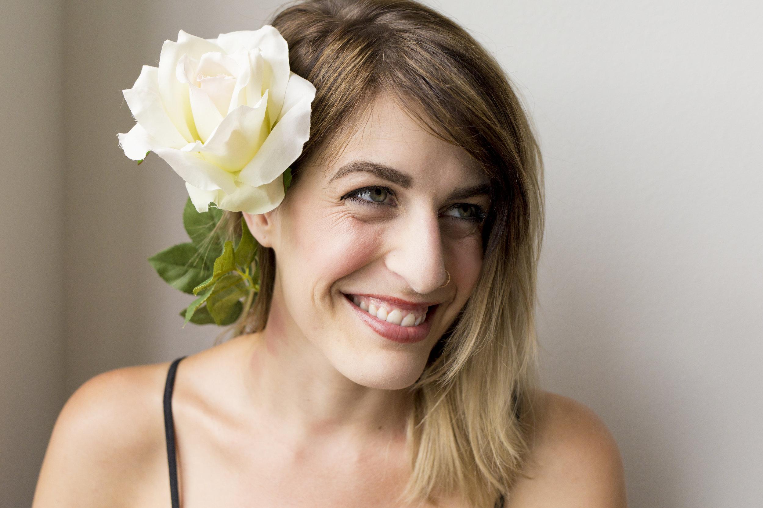 Sofia Angelina Photography Flower Portrait Smile 1 copy.jpg