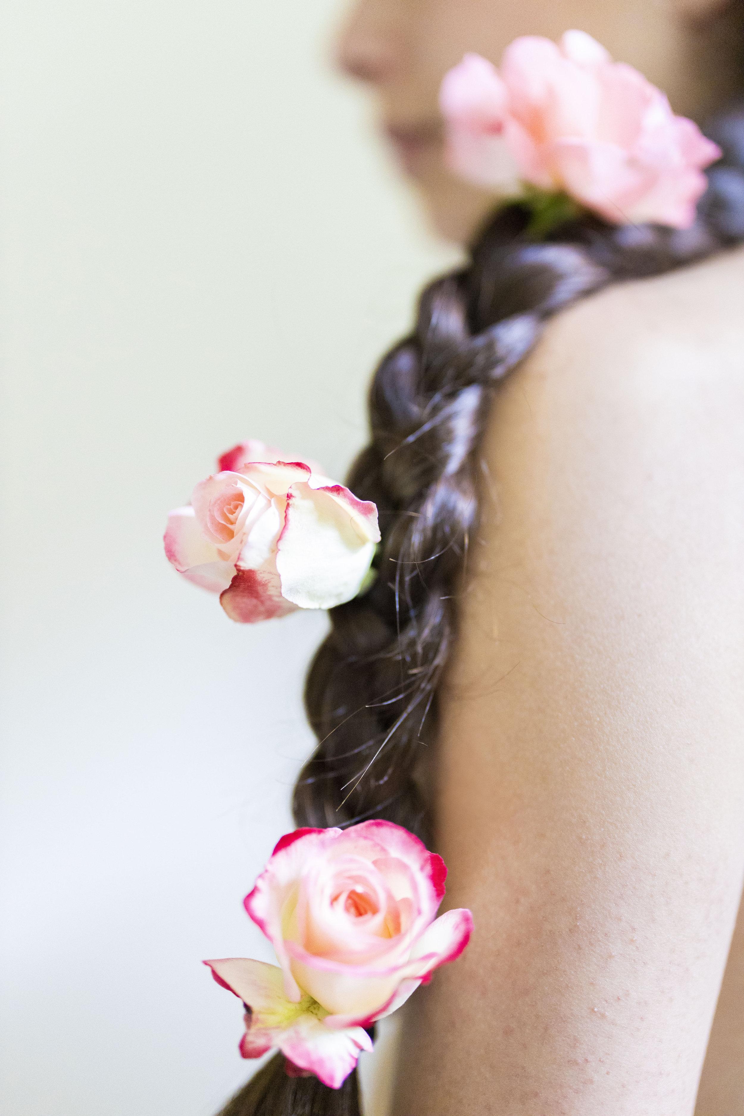 Floral Portland Portraits Sofia Angelina Photography