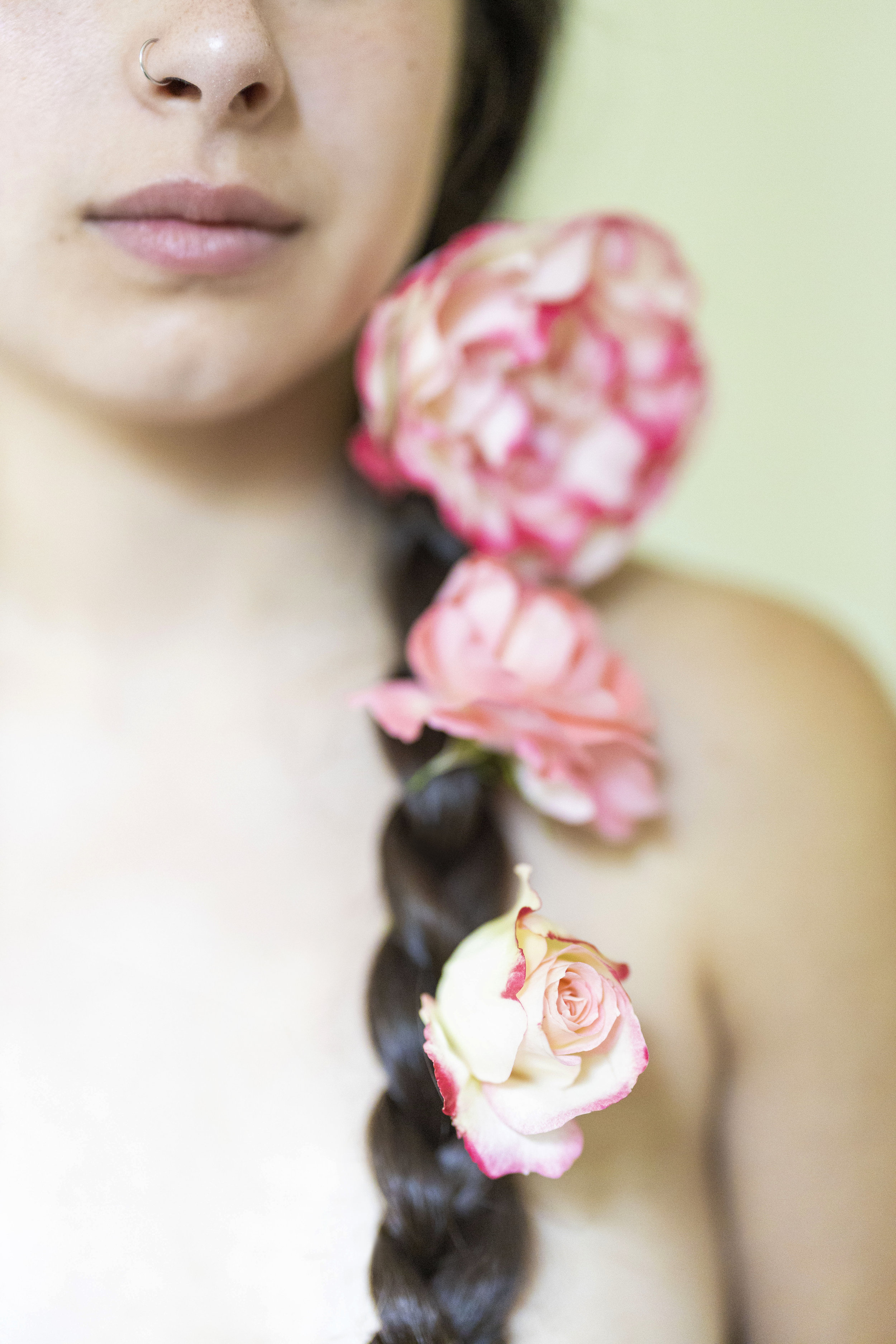 Floral Portraiture Portland Sofia Angelina Photography