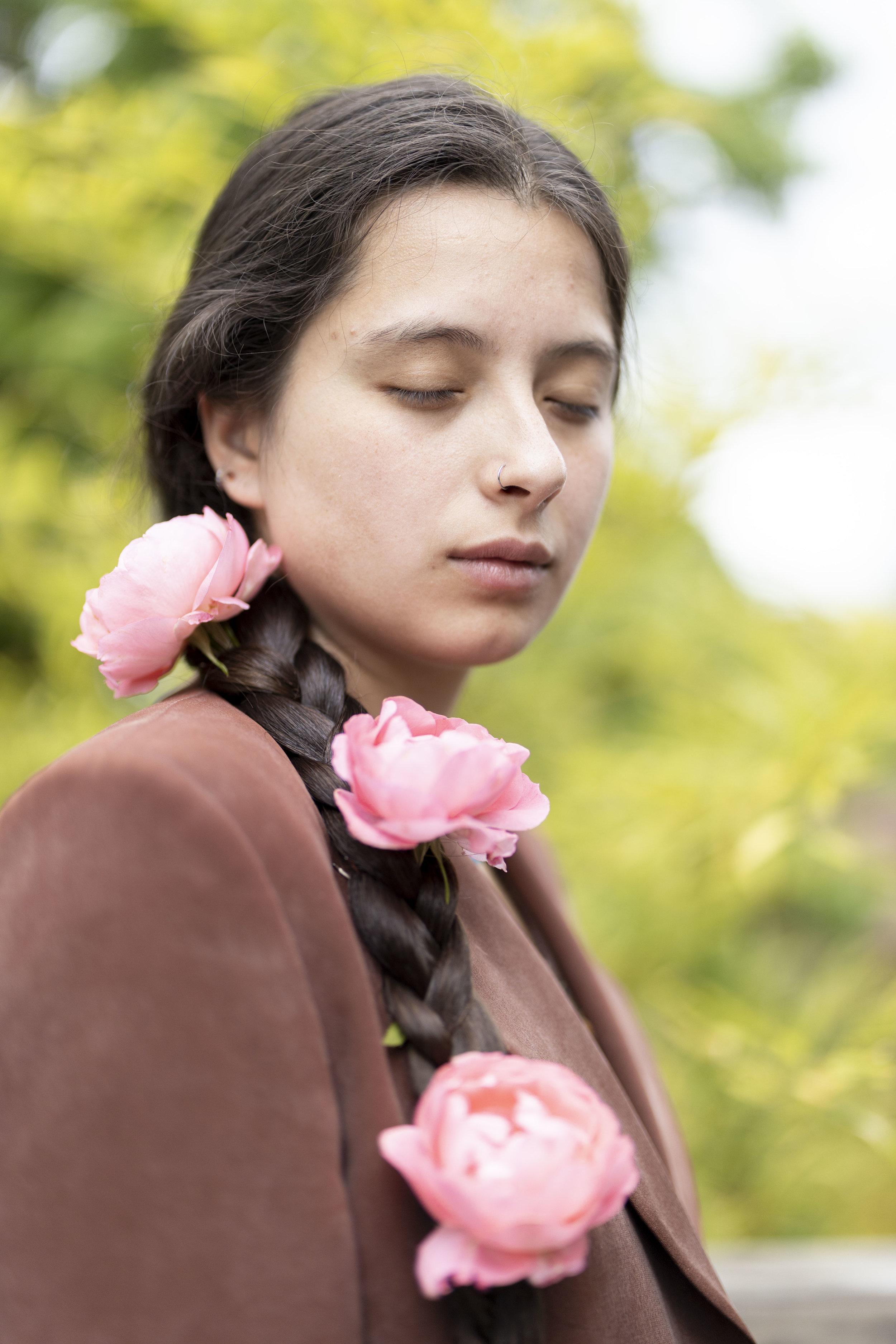 Sofia Angelina Photography Portland Portraits Floral