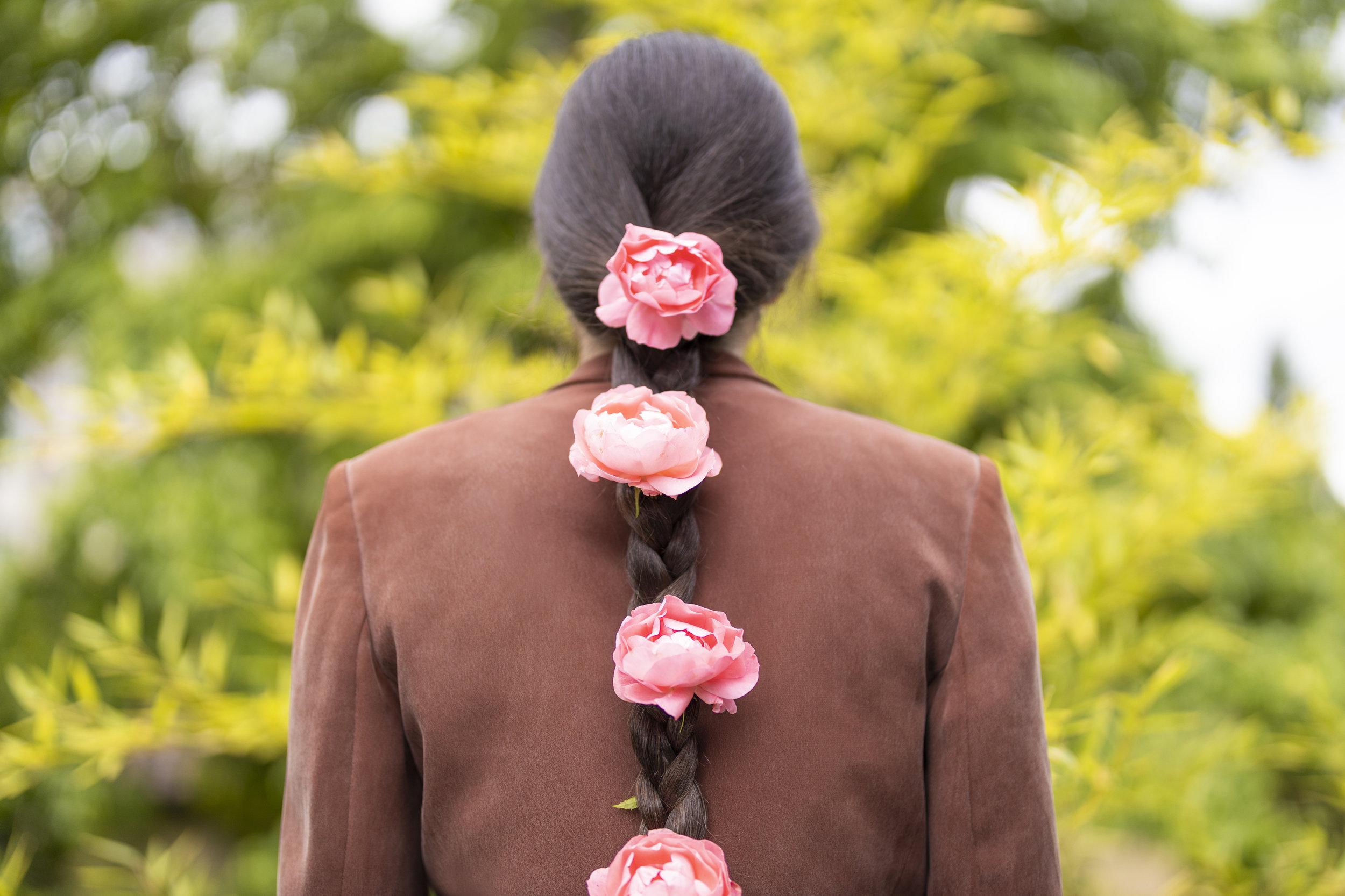Sofia Angelina Photography Portland Floral Portrait