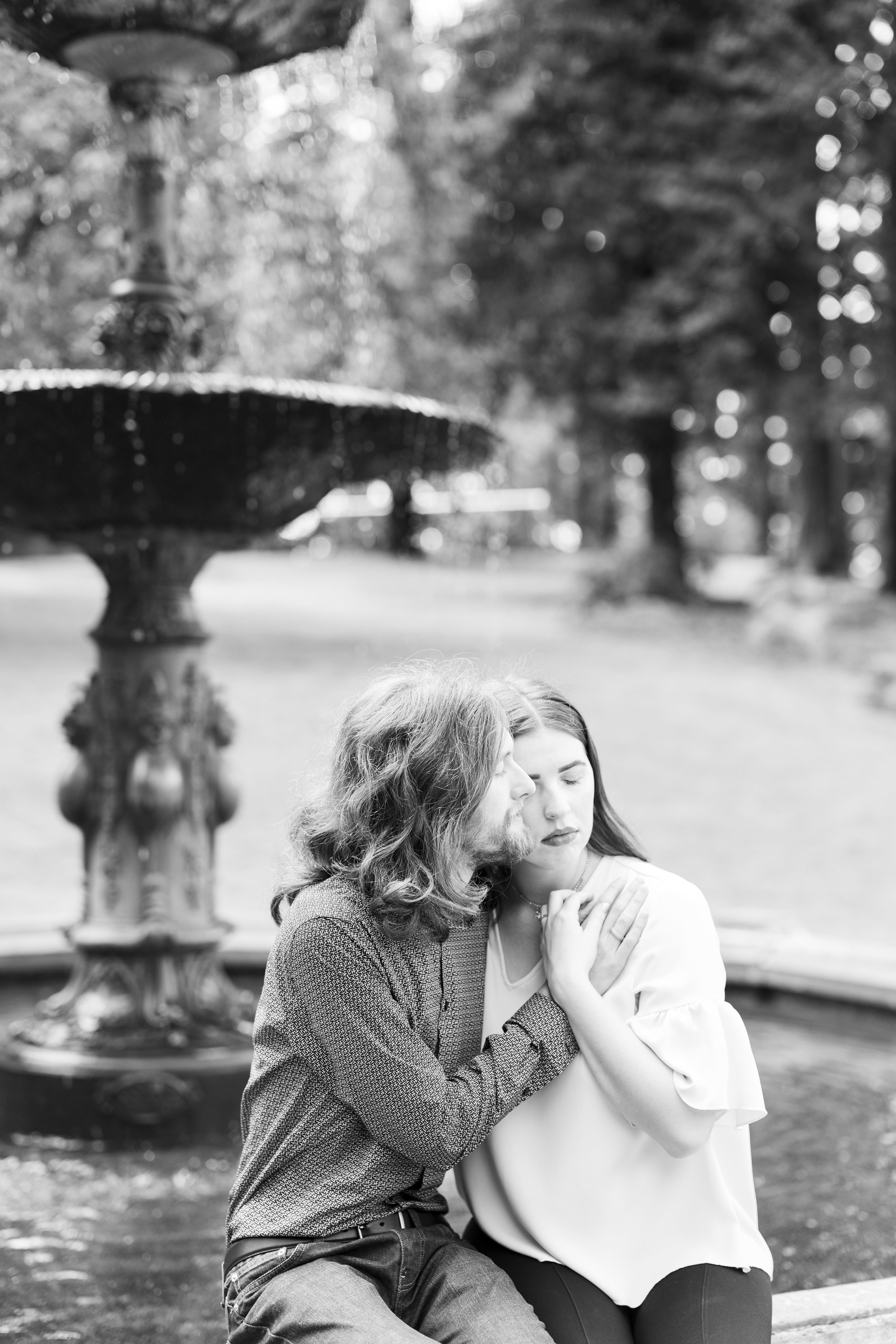 Portland Engagement Photographer Sofia Angelina Photography International Rose Test Garden