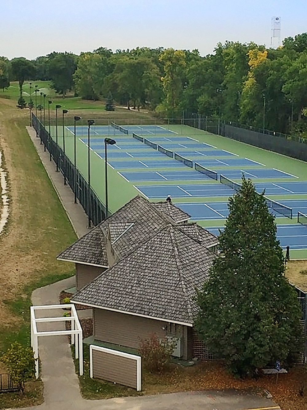 Winnipeg Lawn Tennis Club - 11 newly resurfaced Plexipave hard courts set on the banks of the Red River in beautiful Wildwood.Open to players of all skill levels.