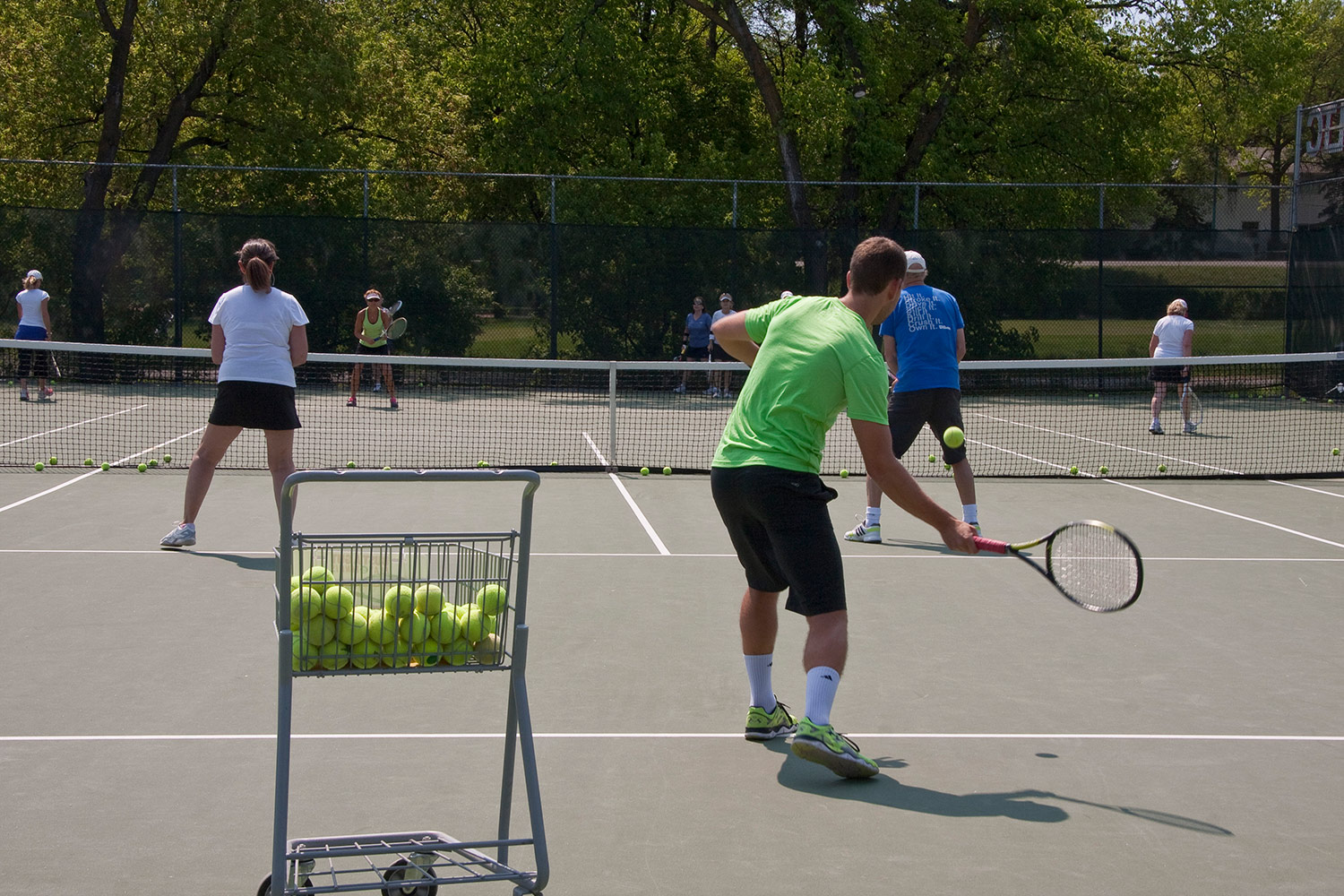 Join a Program - We have programs for players at all levels. Find information on clinics, leagues, ladders and Team Tennis.