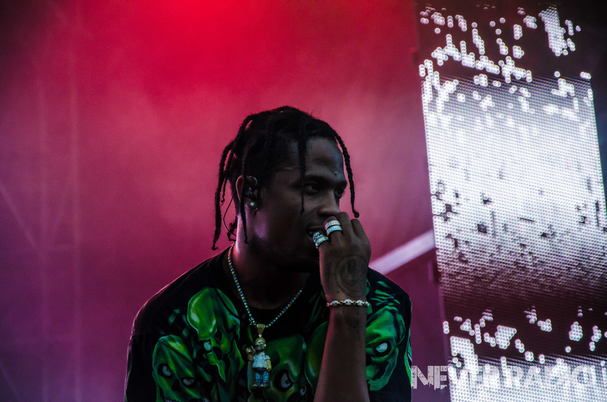 Travis Scott Fvded In The Park