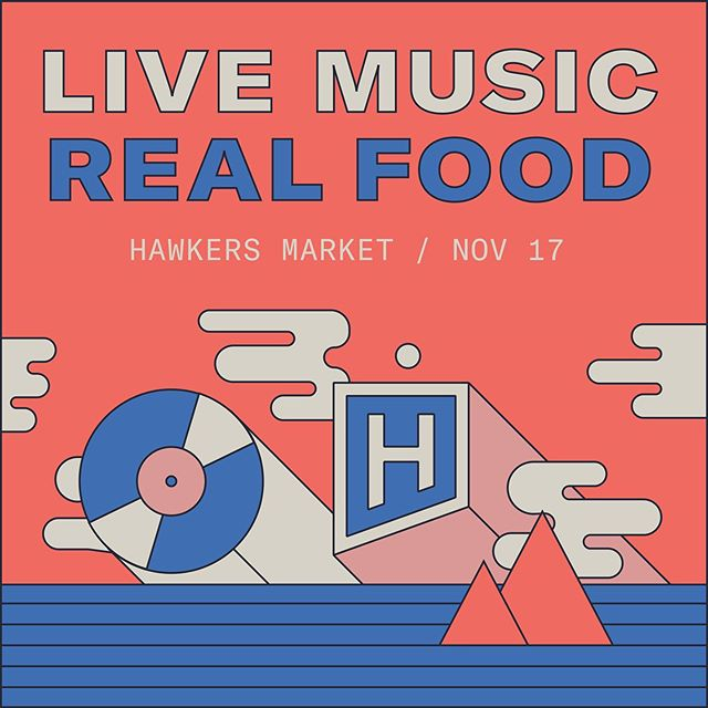 Should I go to @hawkersmarket tmrw night? Hmm... do I love delicious food and drink? Yes. Yes I do. Do I like free admission? Same answer.