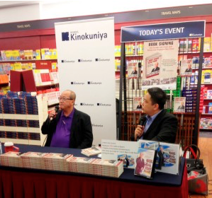 Boyd Au,  I Don't Want To Be Poor  book signing at Books Kinokuniya