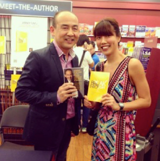 Launch of  Breakthrough  by Jimmy Ong at Books Kinokuniya.