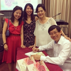 Launch of  The Marriage Supper Of The Lamb  by elder-pastor of City Missions Church, Jehu Chan.