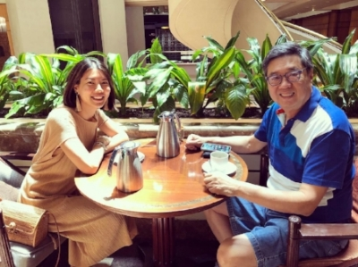 With Richard Eu of Eu Yan Sang.