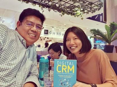 With  Digital CRM  author, Danny Condecido.